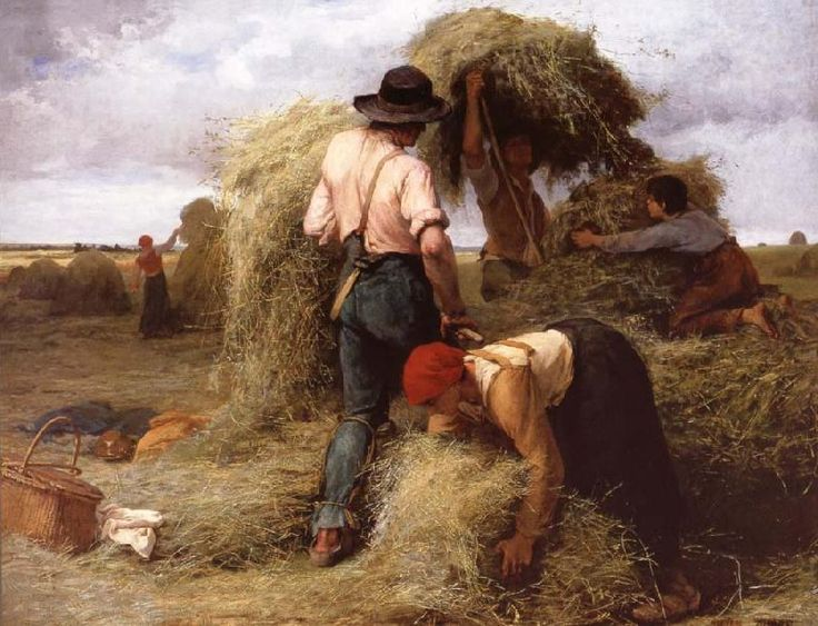 (France) by Julien  Dupre (1851~ 1910)