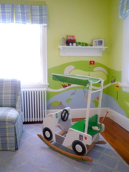 Golf Kids Room! #golfballsunlimited.com