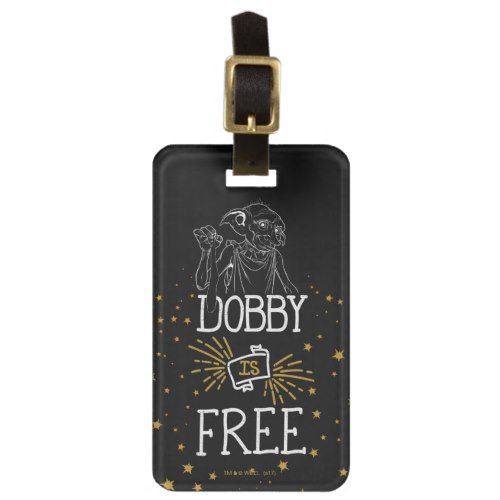 Harry Potter   Dobby Is Free Luggage Tag