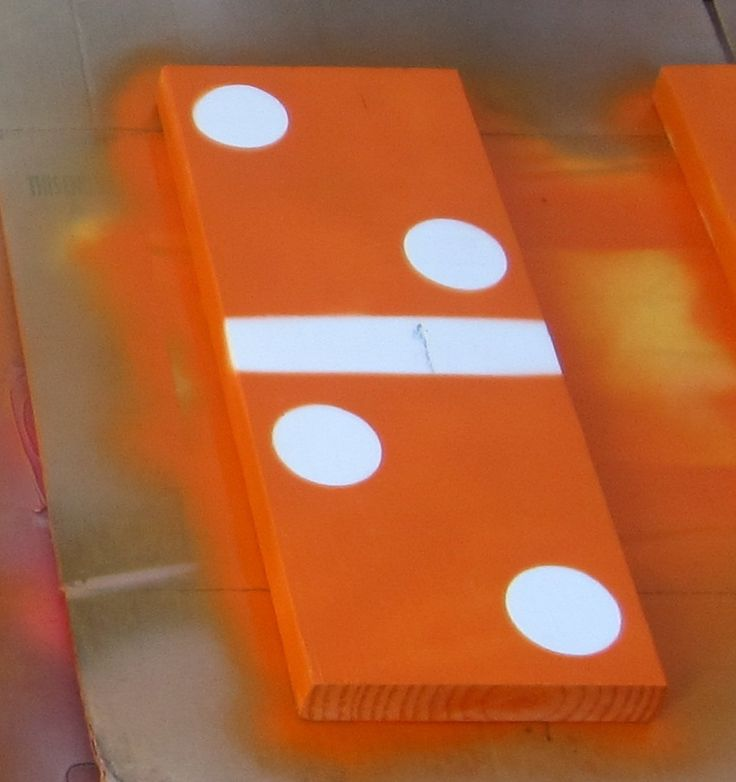 How to make giant dominoes - Welcome to The Home Depot Community