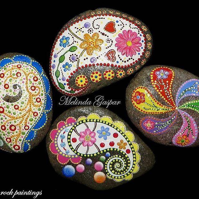 #paintings #rockart #rockpainting #stonepainting #stones #pebbles #art #artist…