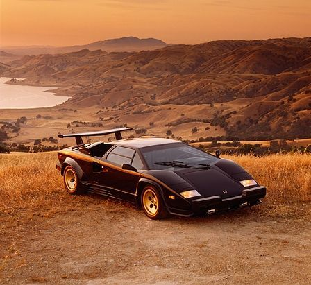 Lamborghini Countach, As Featured On My Childhood Bedroom Wall!