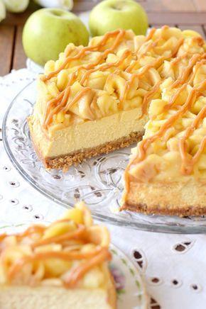 L'autunno in un dolce. L'aroma confortante della cannella, la voluttuosità della crema al formaggio, la succosità delle mele e la dolcez.