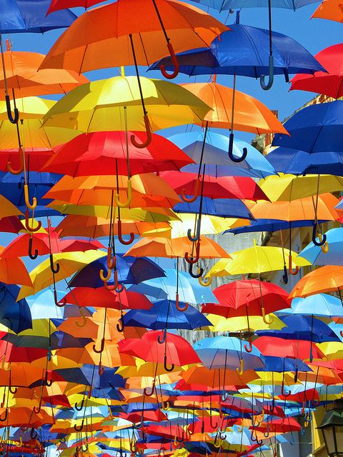 umbrella sky project - portugal