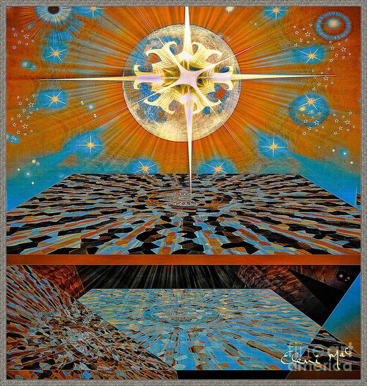 Digital Art -  Solar Energy by Eleni Mac Synodinos