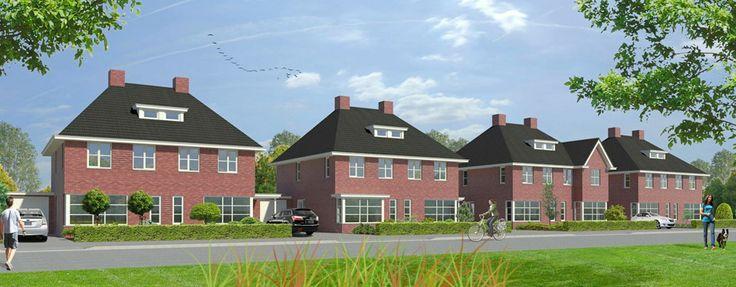 #Hardenberg - De Lanen II. Wonen in een huis met een chique jaren 30 uitstraling dat ook nog eens #duurzaam gebouwd is! Met deze woningen valt de energierekening een stuk lager uit. #nieuwbouw #bouwfonds #duurzaamwonen