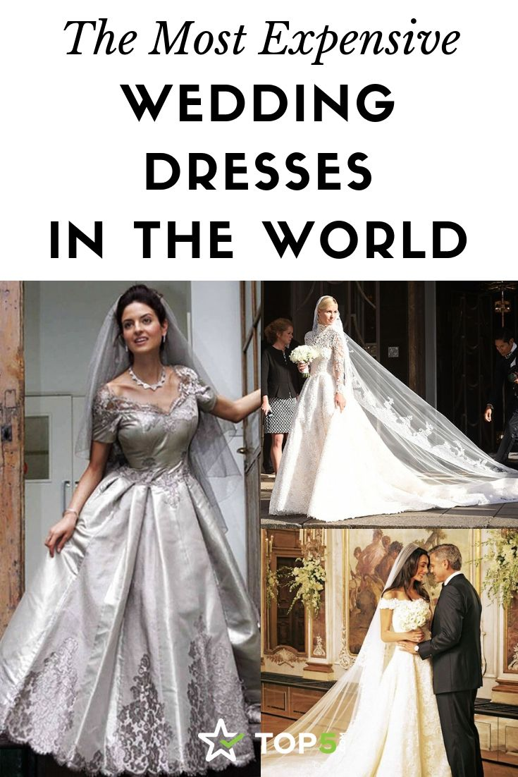 The Most Expensive Wedding Dresses in the World in 16  Most