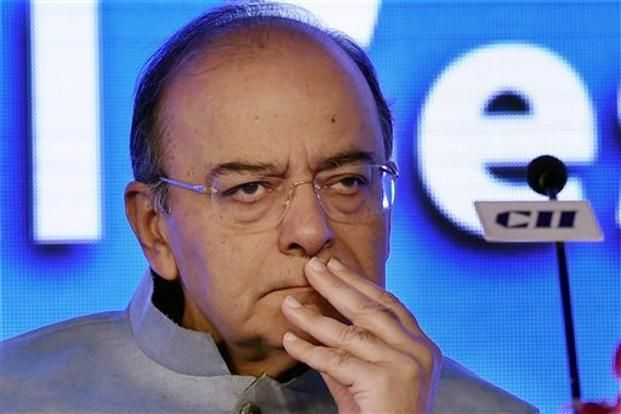 Finance minister Arun Jaitley. Several of the flagship government schemes of the current National Democratic Alliance (NDA) are the progeny of schemes going back to the previous Congress-led UPA government. Photo: AP