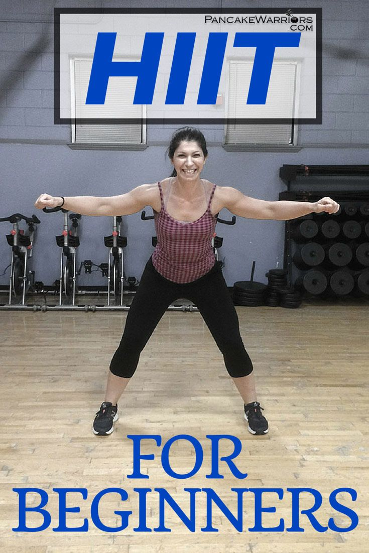 This HIIT for beginners workout will take you about 12 minutes to complete and you will be dripping sweat by the end!