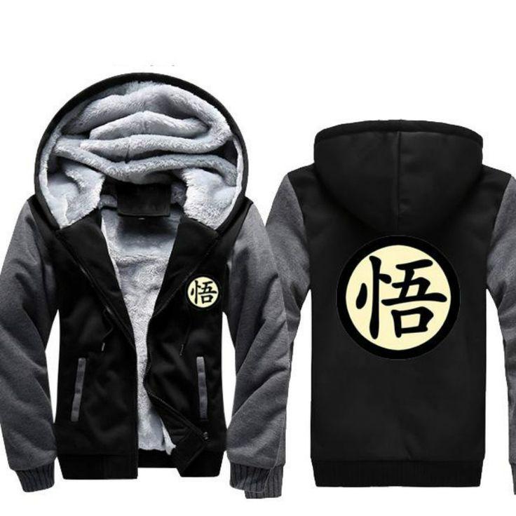 Marca de ropa de Anime Dragon Ball Z Chaqueta y sudadera con capucha de Los Hombres de Lana, Superman Hoodie Impreso Goku Culturismo Ropa Sudadera Con Capucha Cosplay(China (Mainland))