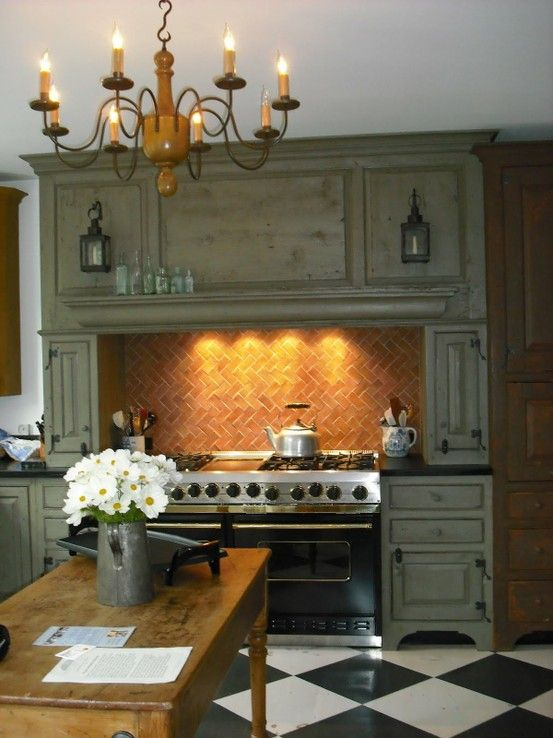 European Kitchen Custom Interior Design Ideas ~ European kitchen kitchens stove floor