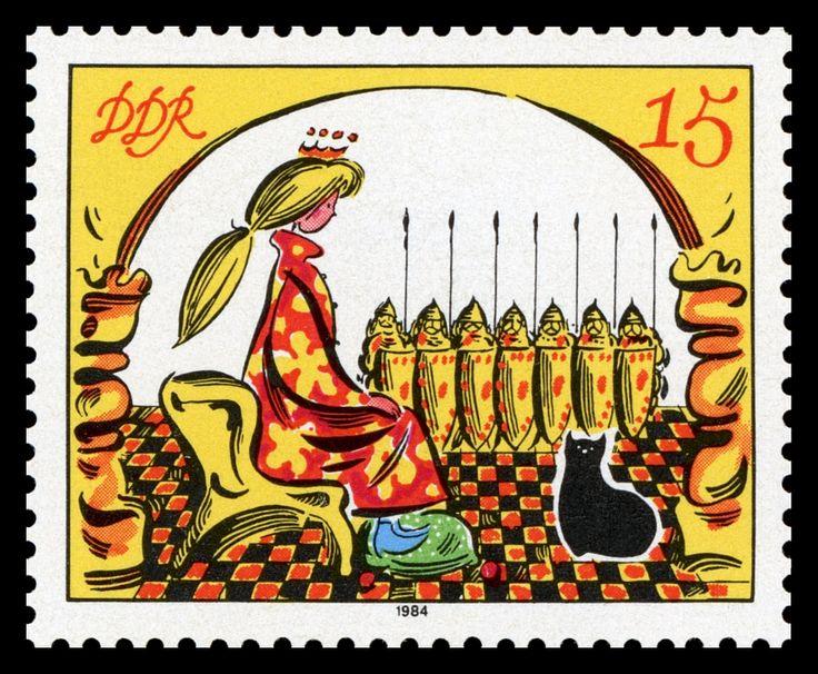 Werner Klemke / Briefmarken-Jahrgang DDR 1984