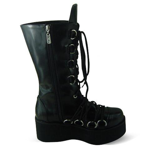 >> Click to Buy << Princess sweet lolita gothic lolita boots shoes custom Tai an na lolita cos d metal punk HARAJUKU platform zipper boots 1221 #Affiliate