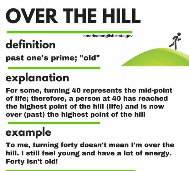 1000+ Ideas About Over The Hill On Pinterest