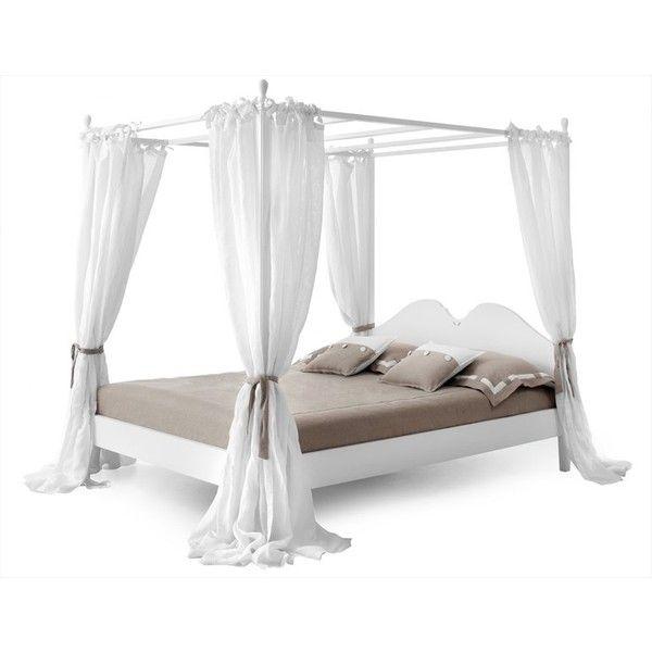 Pin Minacciolo Ansouis Camera Da Letto Letti Con Baldacchino on... ❤ liked on Polyvore featuring beds and furniture