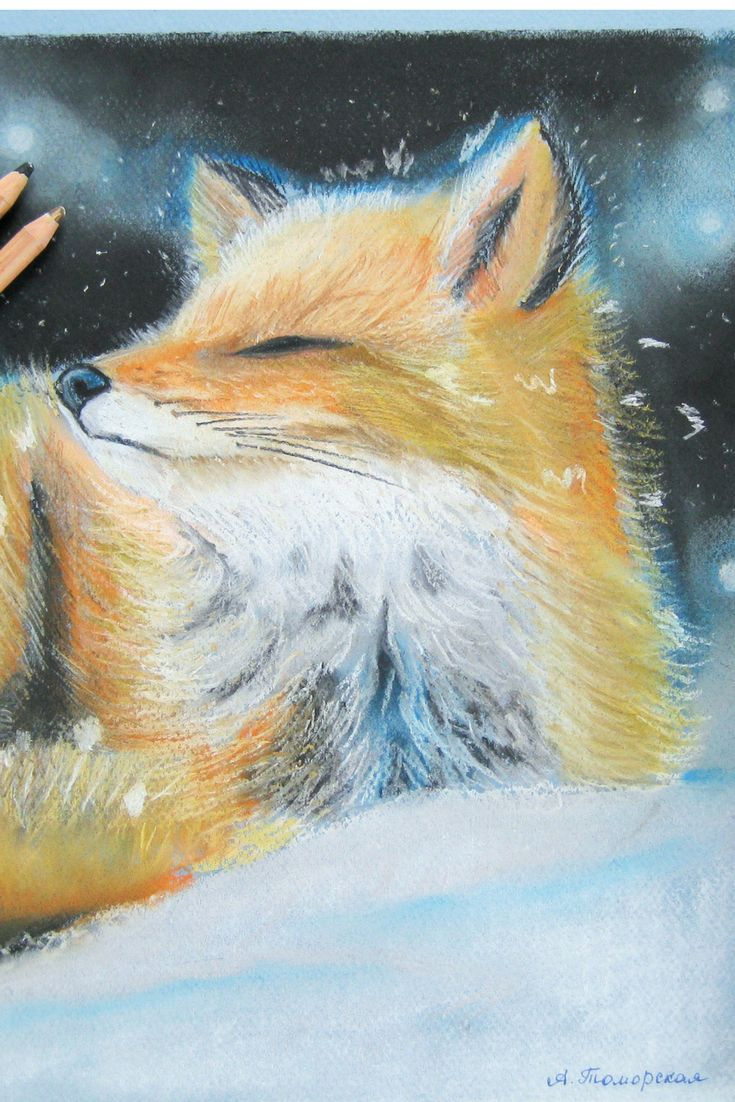 """Dreaming of Spring. Soft pastel Mungyo, Canson Mi-Teintes, pastel penсils Faber Castell. 9"""" x 12"""". #christmasgifts  #christmas #gifts  #caramelartgallery #softpastel #mungyo #cansonpaper #pasteldrawing"""