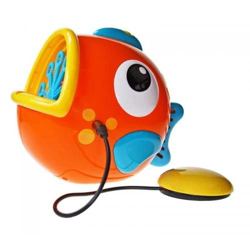Frankie the Bubble Fish switch adapted toy