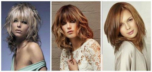 Модные стрижки на средние волосы 2017-2018 фото, красивые женские стрижки на средние волосы идеи