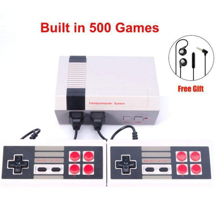 Wallmart.win New Retro Childhood Mini TV Handheld Video Game Console Upgrated For Nes Games Built-in 500 Different Game PAL+NTSC dual…