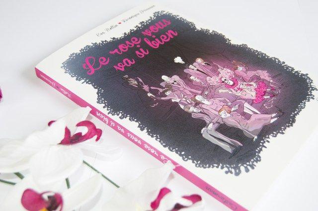 """#littérature #book #blog #pink #rose #BD #bandedessinee #livre   Je vous parle aujourd'hui de la BD """"Le rose vous va si bien"""". Un oeuvre aussi loufoque que drôle ! A découvrir très vite !"""