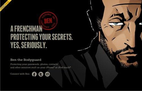 http://benthebodyguard.com/index.php  The site is a remarkable example of how an original, innovative design can bring a lot of attention to the site that actually hasn't been released yet.