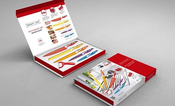 Νέος διαγωνισμός SaltandSugar.gr ! Κερδίστε ένα Σετ από 5 Μαχαίρια & έναν Αποφλοιωτή. Ένα απαραίτητο σετ για κάθε κουζίνα σε υπέροχα χρώματα. Λεπίδες από ανοξείδωτο ατσά