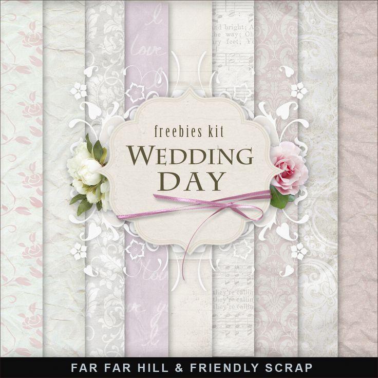 Far Far Hill: New Freebies Kit - Wedding Day