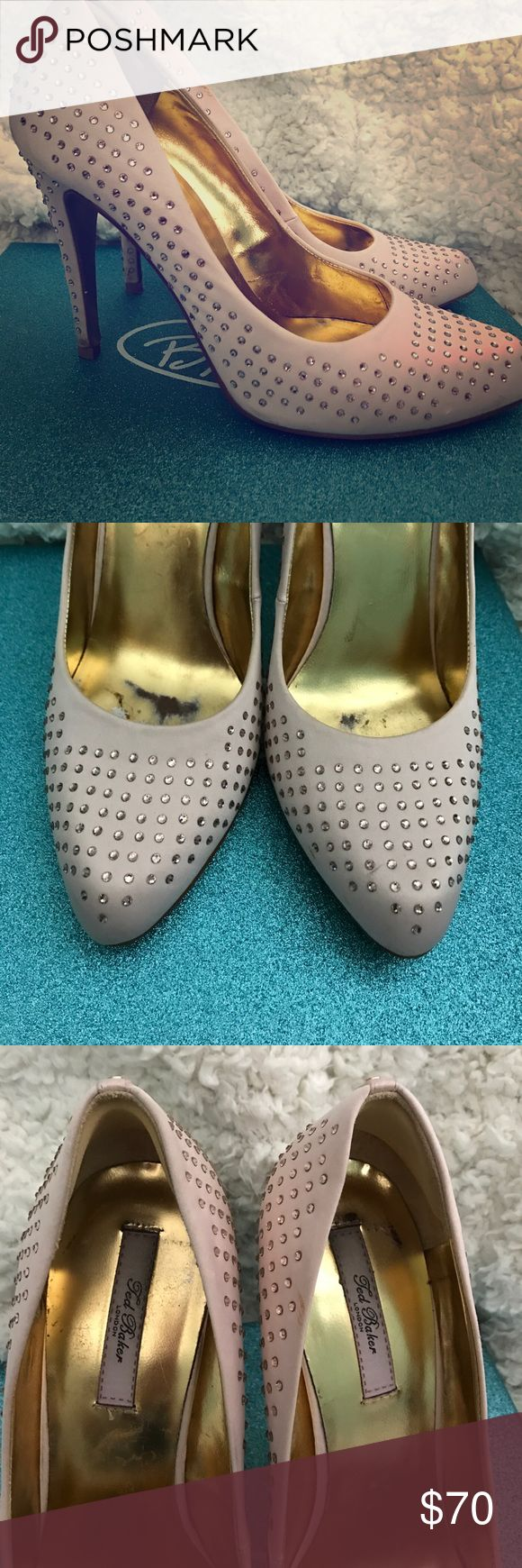 Ted Baker pink heels! Received many compliments when wearing these beautiful heels. Best offer. Baker by Ted Baker Shoes Heels