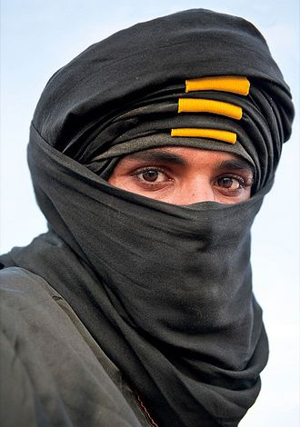 Tuareg of Tunisia, arab men even if they are not handsome it can not be denny they sure are exotic looking with their turban on