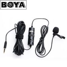 US $19.95 BOYA BY-M1 Omnidirectional Camera Lavalier Condenser Microphone Mic for Canon Nikon Sony DSLR Cameras and IOS iPhone Smartphones. Aliexpress product
