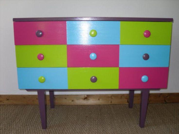 20 best meuble relooké images on Pinterest Old furniture, Dressers