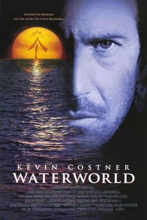 Water World : 1995 - when I saw this movie, I did not think it would happen the polar ice caps have completely melted, and the sea level has risen many hundreds of meters, covering nearly all the land... Now, I think it might be happening.... sad.