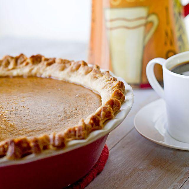 The Midnight Baker: Classic Pumpkin Pie