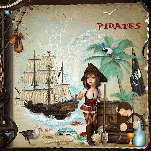 Pirates by Bel Scrap