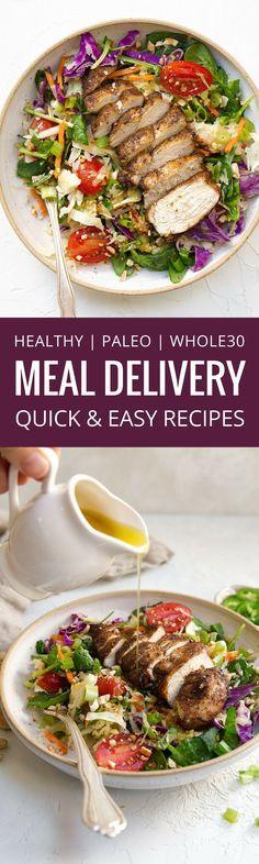 Paleo meal delivery  #paleopantryideas
