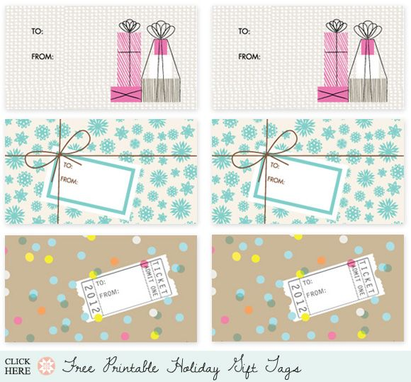 Love these freebie tags!