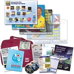 Commercial Pilot Get It All Kit - Online - Includes Knowledge Exam Prep & Checkride Prep (Oral & Flight) - Plus 14 additional flight skills courses & pilot gear - Guarantee you pass the FAA Knowledge Test and Checkride plus you'll save money on your overall flight training by being better prepared when you step into the cockpit.