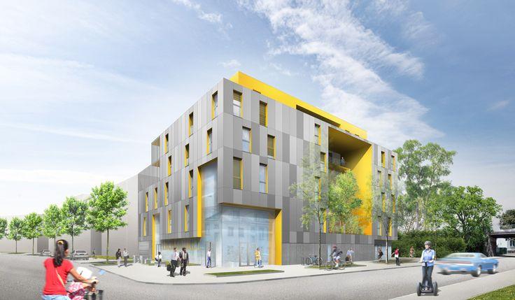 immeuble de bureaux, commerces et 10 logements, strasbourg cronenbourg (67), Patrick SCHWEITZER & Associés - Agence d'architecture de la région Alsace