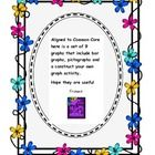 Aligned to Common Core here is a set of 9 graphs that include bar graphs, pictographs and a construct your own graph activity.  Hope they are useful...