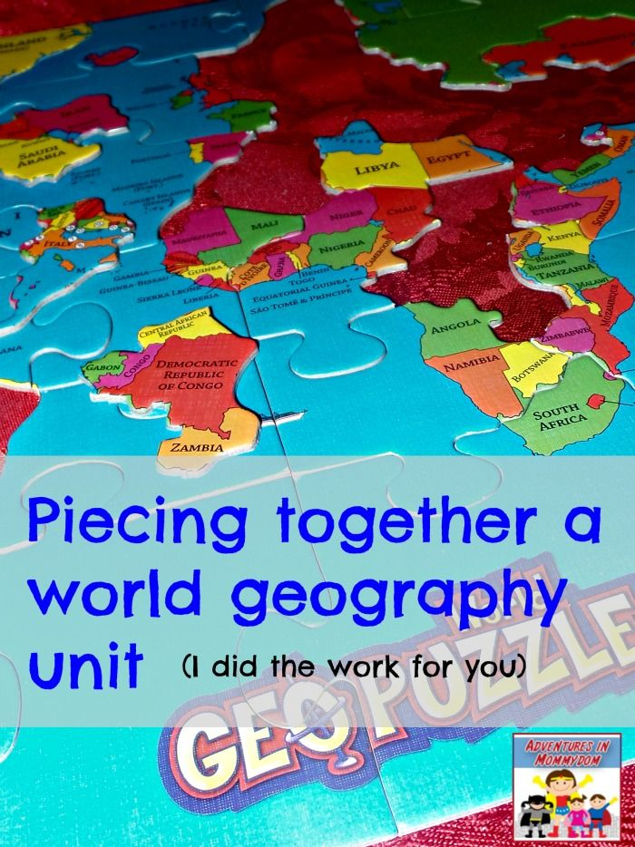 Creating a hands on world geography unit - Adventures in Mommydom