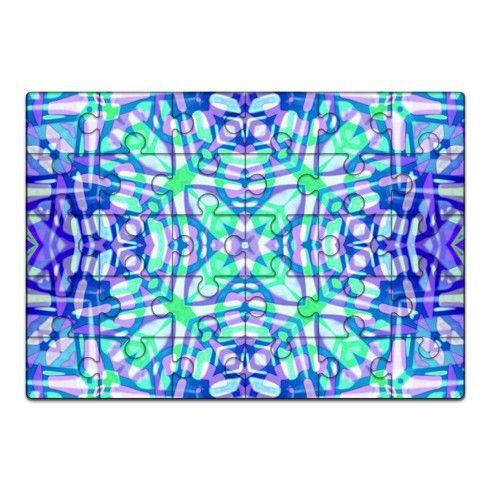Ethnic Tribal Pattern G16 Jigsaw by medusagraphicart at zippi.co.uk