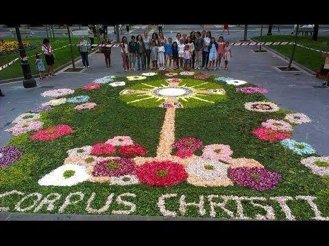Resultado de imagen de corpus christi alfombras