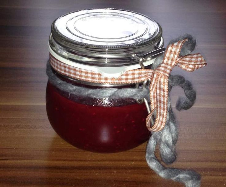 Rezept Weihnachtsmarmelade mit Himbeeren von sternschnuppe10001 - Rezept der Kategorie Saucen/Dips/Brotaufstriche