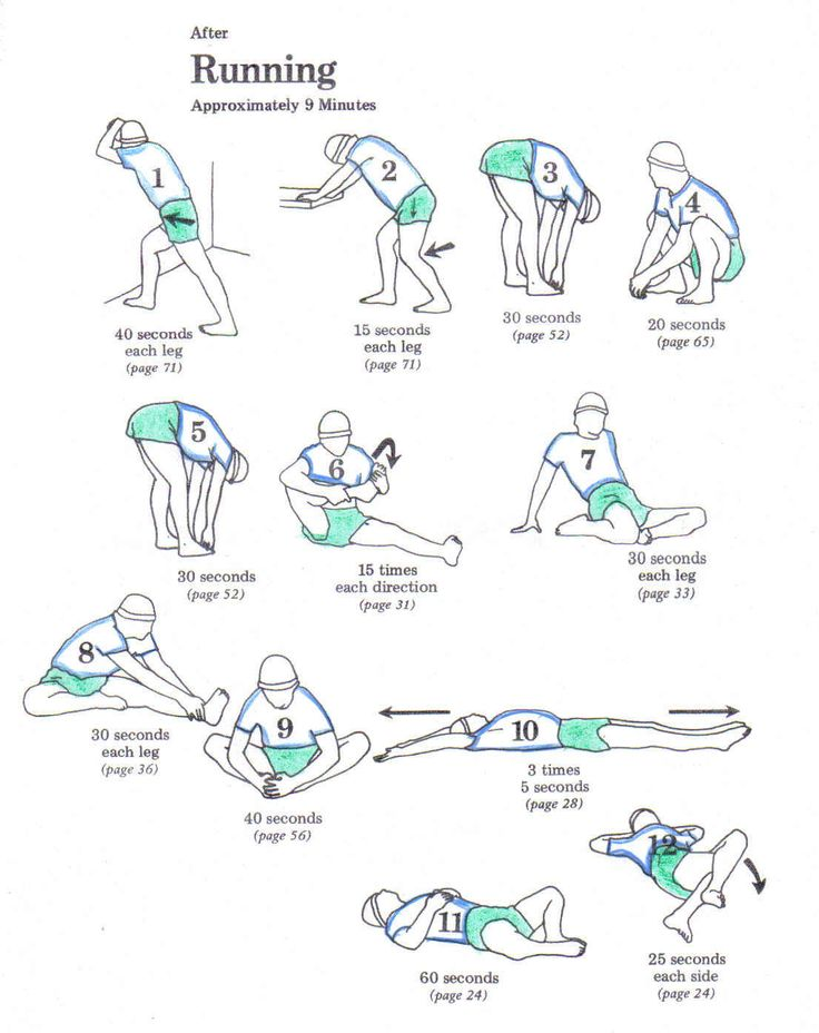 Try this stretch sequence after your run to help reduce injury and leave you feeling great! Neeeeeed these!