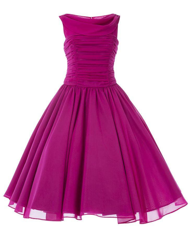 9 best Vestidos Vintage images on Pinterest | Vintage dresses, Yahoo ...