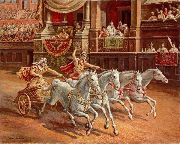 Chariot Race by Rubik Kocharian