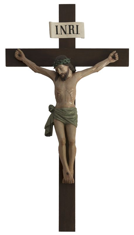 Crucifixion after restoration.