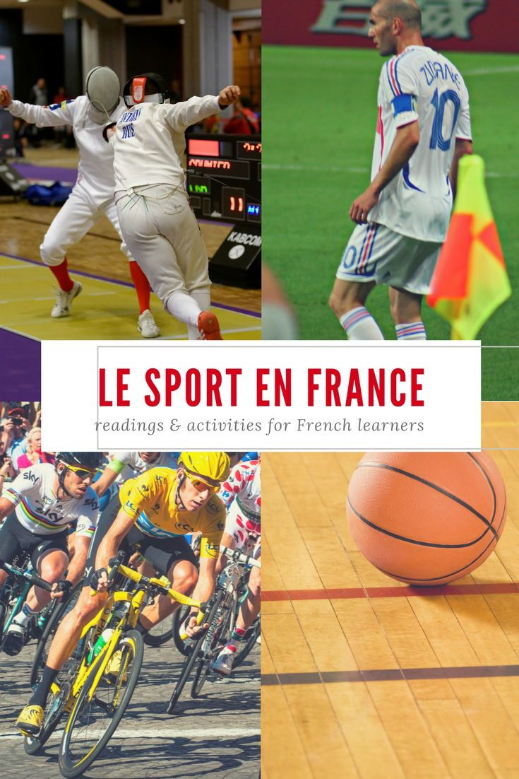 Le Sport En France Readings And Activities Teaching French Sports French Teacher
