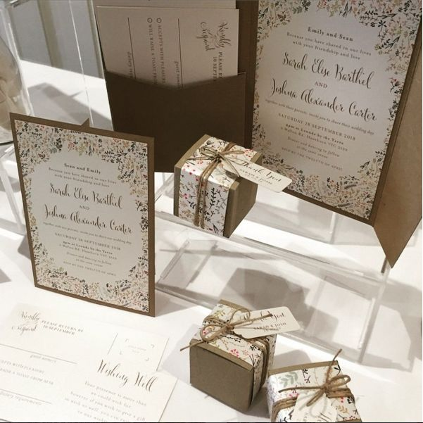 Our autumn floral inspired stationery range in all of its glory. www.thepaperempire.com.au