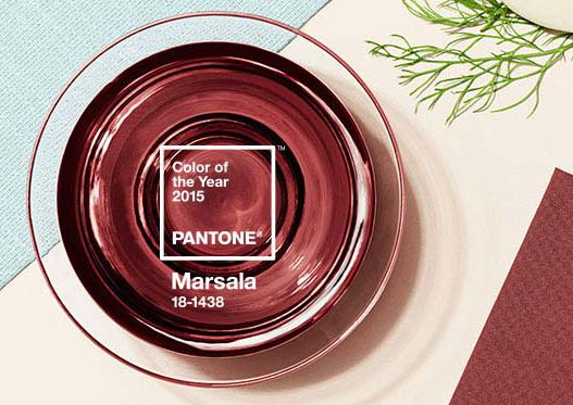 #Pantone anuncia oficialmente su #ColorDelAño 2015: #Marsala, un bonito tono marrón rojizo inspirado en la tierra y el típico vino siciliano, producido en la ciudad del mismo nombre ☺︎ Ciertamente, un buen vino ¡resulta siempre inspirador! Pero #masbonitoqueunsanluis se mantiene fiel a su #RadiantOrchid, color predominante en 2014. #LaVidaEsChulaDeColorLila!! ☺︎ www.masbonitoqueunsanluis.com, https://www.facebook.com/masbonitoqueunsanluis https://twitter.com/Arantxa_Gallego